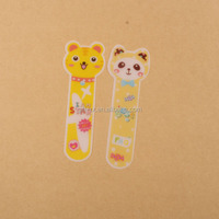 Fancy plastic custom size funny bookmark for book,for gift cartoon characters paper pvc pp 3d anime bookmark