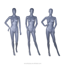 2018 fashion standing female PP mannequin