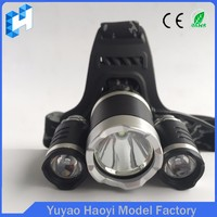 Rechargeable wide angle led zooming headlamp mountain Bike Riding