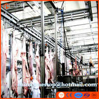 Cow and Bull Slaughter Line Design Halal Cattle Slaughter Line Machine Beef Production Line