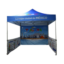 Outdoor Foldable Square Play Mobile Advertising Tent