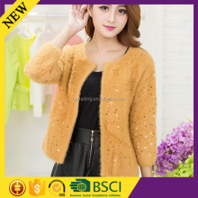 Cardigan mohair best selling 2015 top quality china factory popular fashion sweater