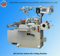 2016 new type of JH-320 high quality automatic label die cutting machine