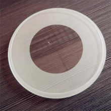 Round lamp glass cover, ultra clear round glass, Flat Tempered Frosted Glass Ceiling Light Cover