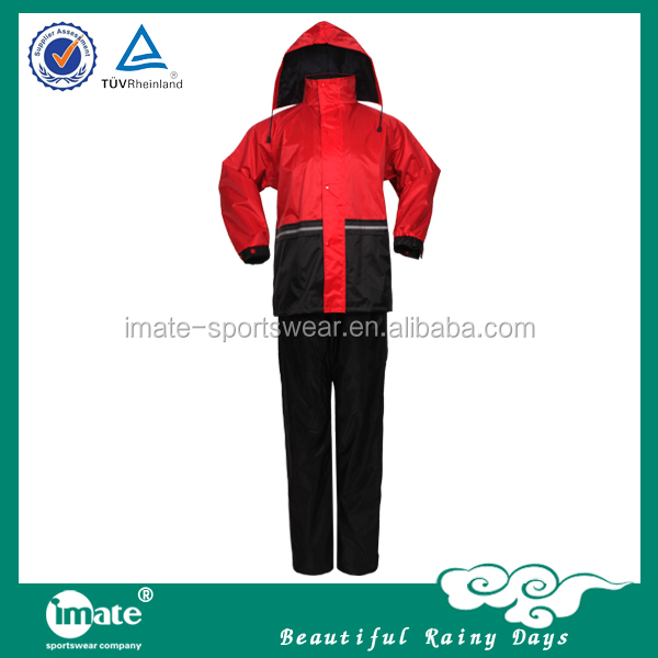 Wholesale vinyl raincoat with hood with hat
