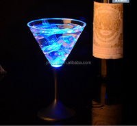 Flash LED Luminous champagne Induction flash glass