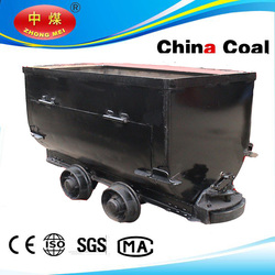 Shandong China Coal 600mm gauge tipping bucket mine car