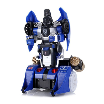 4429065D-RC Deformation Car Robot with Lights and Sounds