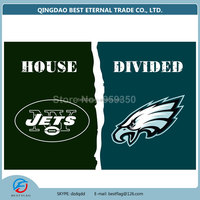 Best Flag - New-York-Jets-vs.-Philadelphia-Eagles-House-Divided-Rivalry-Flag