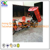Three wheels cargo electric tricycle for building construction