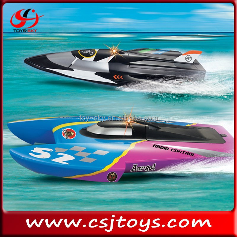 2015 Newest 40CM radio controlled double-headed model boats Ship model remote control boat toys r us for sale