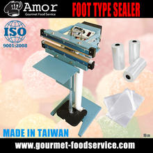 High Quality Double Sides Sealing 75 cm Foot Operated Impulse Heat Sealer