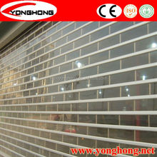 cheap Commercial transparent rolling shutter door cabinet