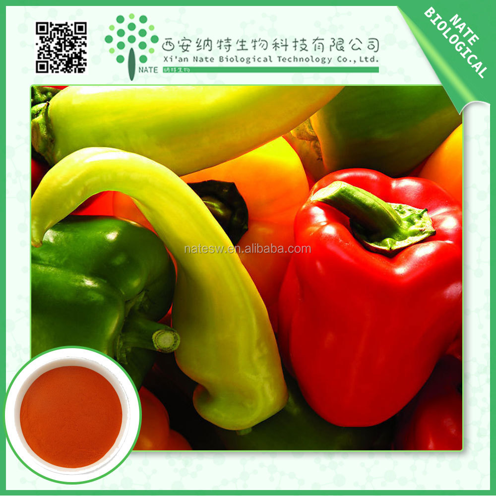 High Quality Cheap Custom herbal extract / chili pepper extract pure capsaicin powder 95%