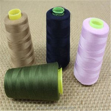 High strength Raw white plastic cone 100% polyester spun yarn