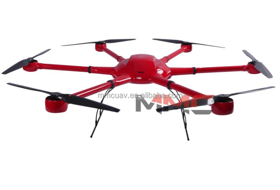 Phoenix A6 Cost effective 75 Minutes Heavy Load Fully-Digital Ciphering Ready to Fly Survey Drone UAV