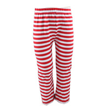 2016 New Wholesale Girls Red Stripe Kids Sport Teens Leggings Child Wholesale Icing Pants