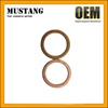 Manufacturer wholesale best quality copper exhaust gasket for motorcycle scooter atv go kart tricycle dirt bike