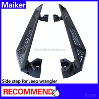Side step bar For jeep wrangler running board For jeep accessories body parts from Maiker
