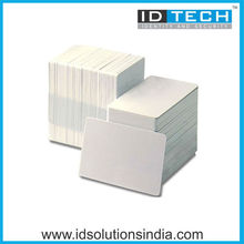 Plain White Plastic Cards PVC White Cards