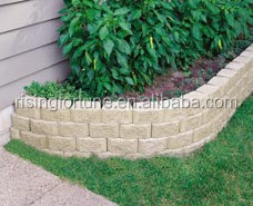 Decorative granite garden edging stones and boarders