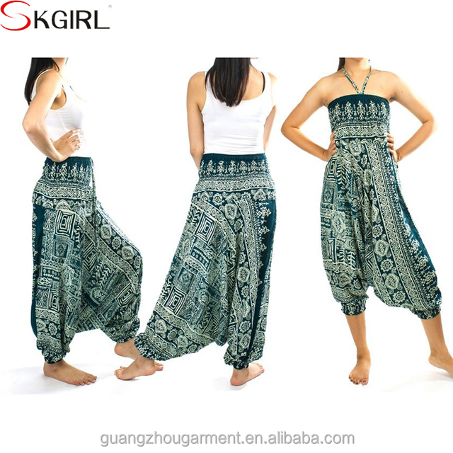 Fashionable ladies casual loose Yoga trousers hippie gypsy indian women baggy harem pants