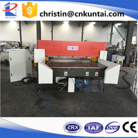 Both sides automatic four column sponge cutting machine