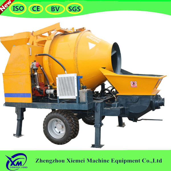 New design good price concrete mixer punp perfect concrete mixer with pump