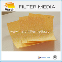 different color filter paper for usage of air filter