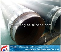 high density polyurethane foam thermal insulated pipeline for oil pipe