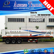 3 axis CNG Container Tube Bundle Semi Trailer (8,9,10,12 tubes)for sale