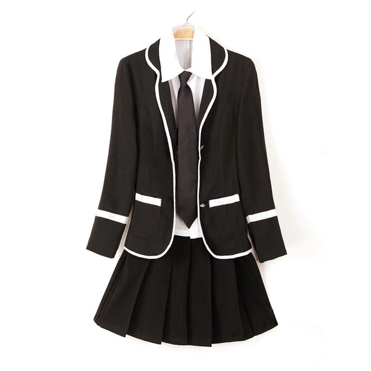 Girls plus size uniform dresses