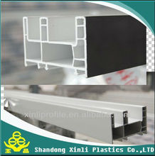 window and door 88mm sliding frame upvc profile pvc profile