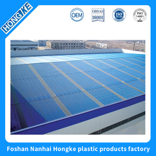 Specifically designed customized color heat resistant flexible sheet roof for poultry house