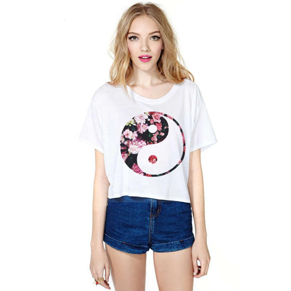 half length chinese element new design ladies t shirts