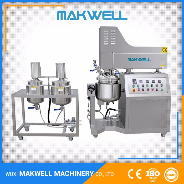 Professional Supplier Homogenizer Mixer Cosmetic Automatic Making Machine