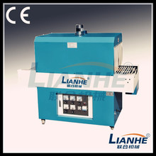 shrink sleeve cutting machine,2 in 1 shrink packaging machine(fm5540),continuous side shrinking and sealing machine