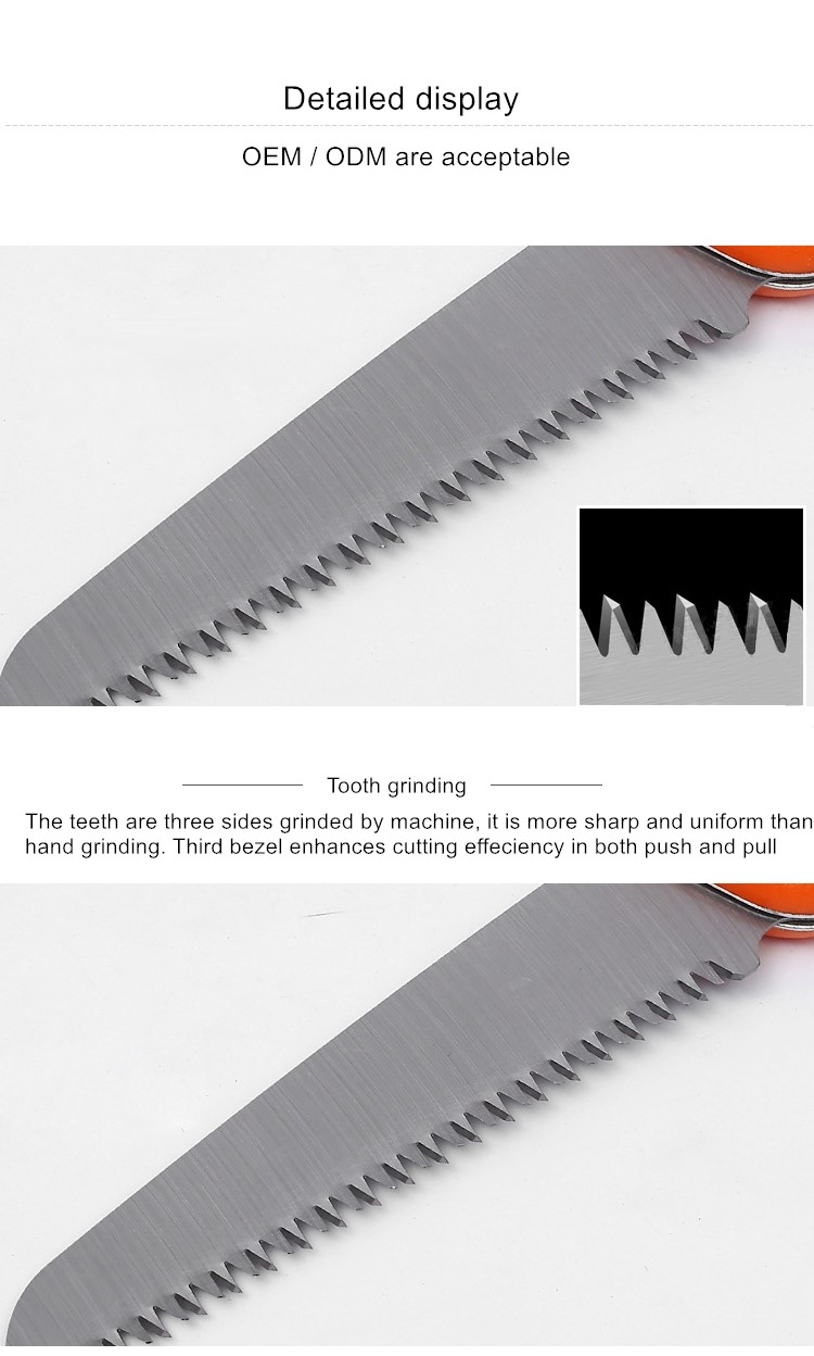 High Quality Foldable Garden Saw Garden Pruning Hand Saw