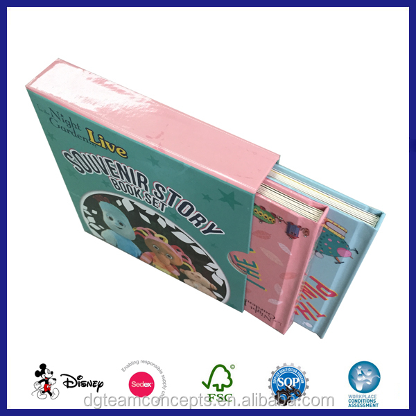 Hard Cover Design Board English Speaking Story Book