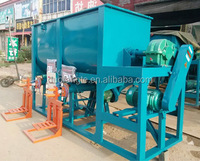 factory price double discharging wall putty mixing machine /mixer for sale