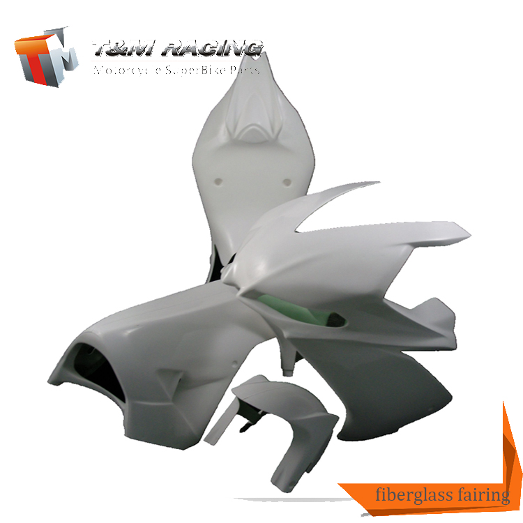 motorcycle Fiberglass race fairing Upper Bodywork for R6 2006-2007
