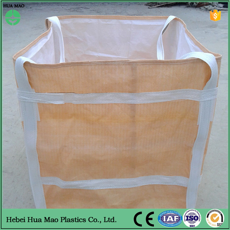 China Supplier 110*110*110cm Cement Big Bag 1-1.5 Ton Big Bag New PP Jumbo Big Bag Size With Competitive Price