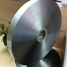 double sided non-bonded thick AL9 PET 15 AL 9 silver industrial heat aluminum mylar foil for cable shield