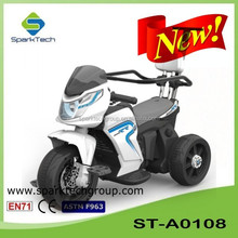 Electric Motorcycle For Children, Kid Car Push Handle, Electric Kids Pedal Motorcycle ST-A0108