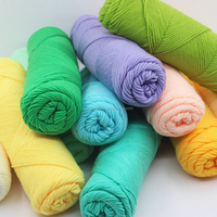 china knit yarn supplier top sale good quality factory price cotton yarn knitting for DIY pattern