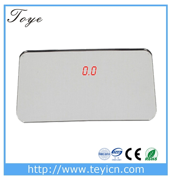 TOYE chinese digital personal weighing scale with Temperature Indicator super fashionable digital weighing scales