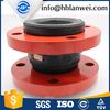 EPDM Single Ball Flange Type Painted Red Ruber Expansion Joint Coupling