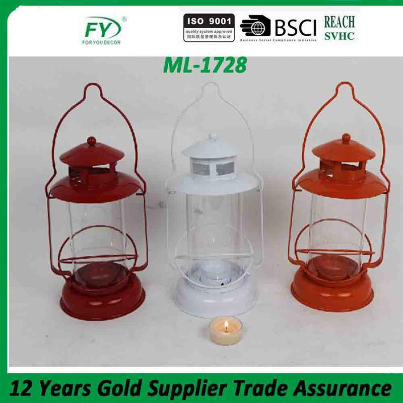 New arrival made in china cheap mini metal moroccan daily use and home decoration hanging metal candle lantern