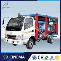 China Manufacturer Children Game 7D Game Truck And Trailer