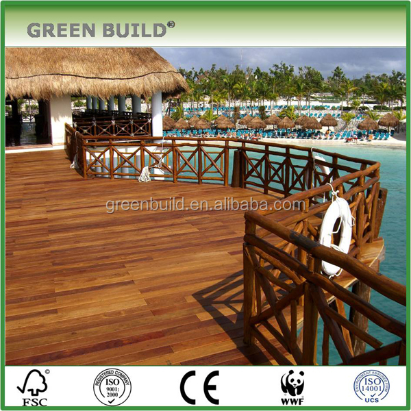 Durable outdoor decking cumaru Solid Wooden Flooring